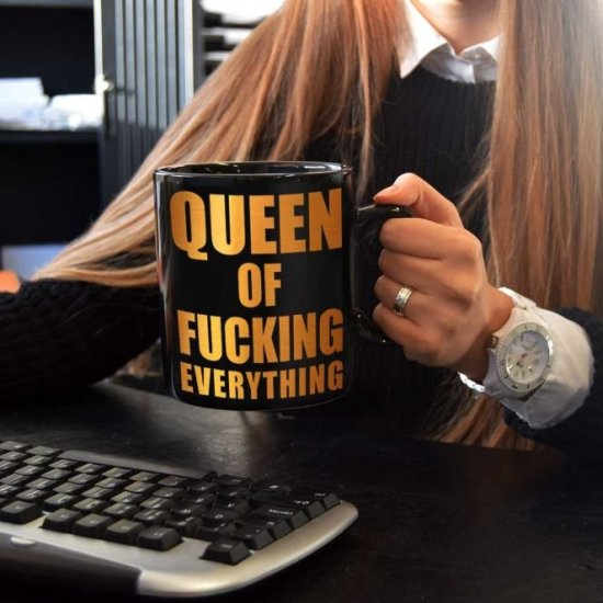 Queen Of Fucking Everything Kop Gadgets
