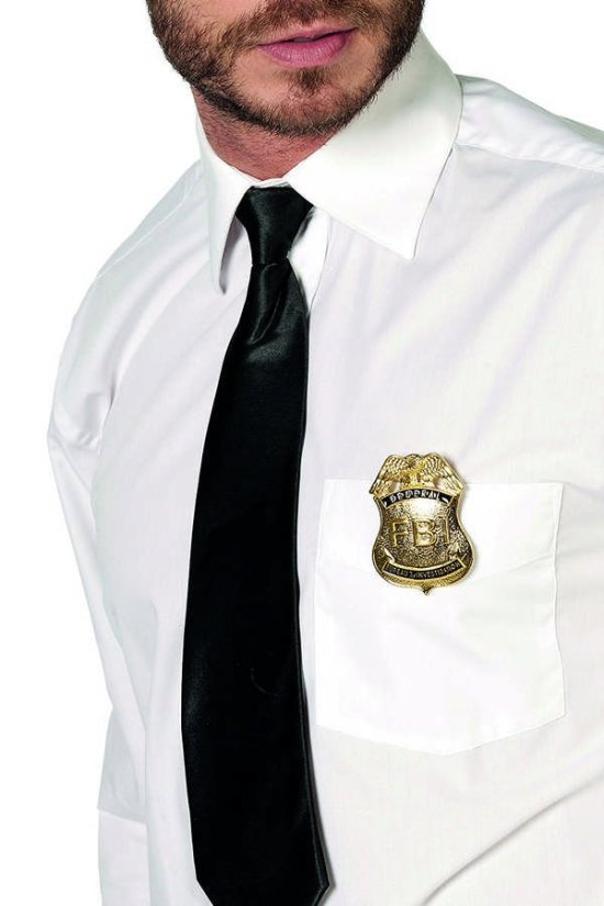 FBI Badge Tilbehoer