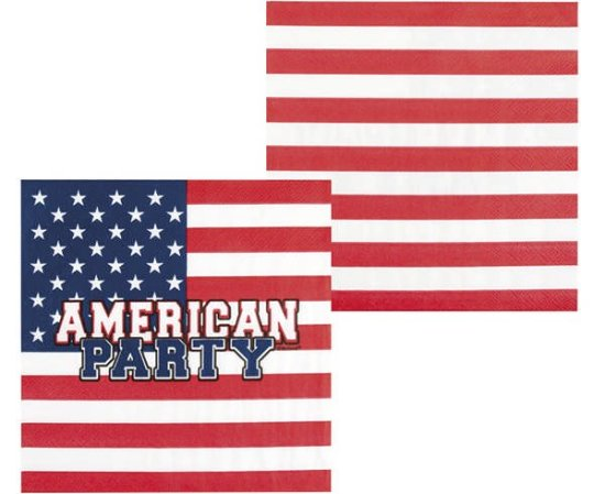 American Party Servietter Festartikler
