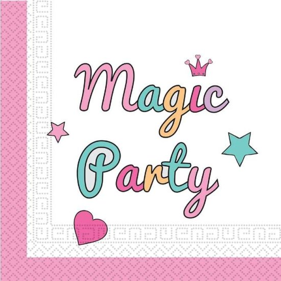 Magic Party Unicorn Servietter Festartikler