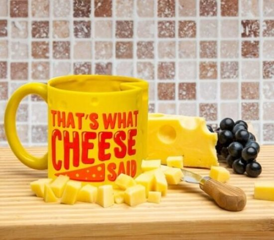 That's What Cheese Said Krus Gadgets