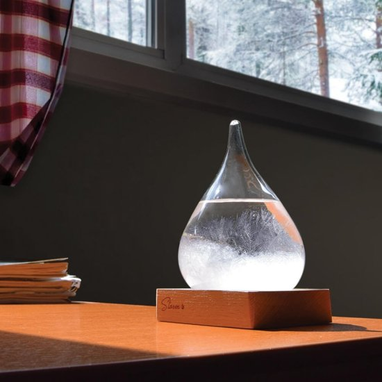 Tempo Drop Weather Forecasting Storm Glass (lille) Gadgets