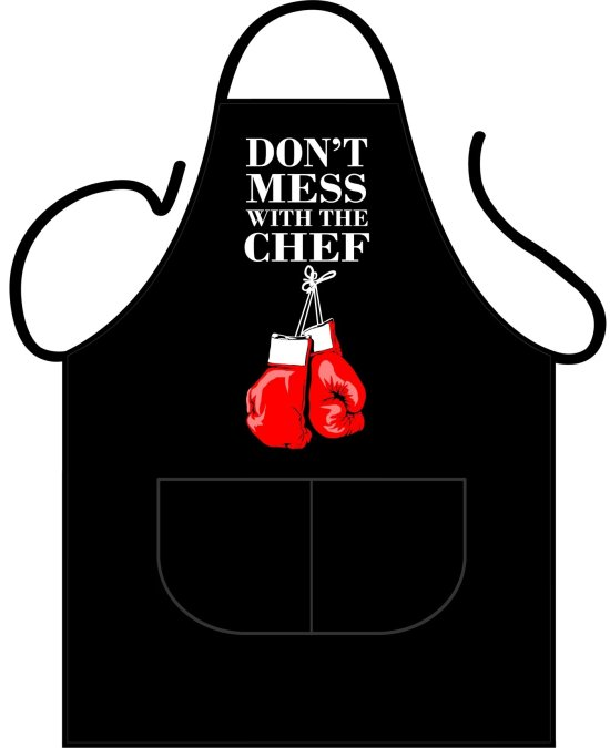 Black Apron Deluxe - Don't mess with the Chef Gadgets