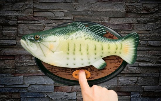 Big Mouth Billy Bass, the singing sensation Gadgets
