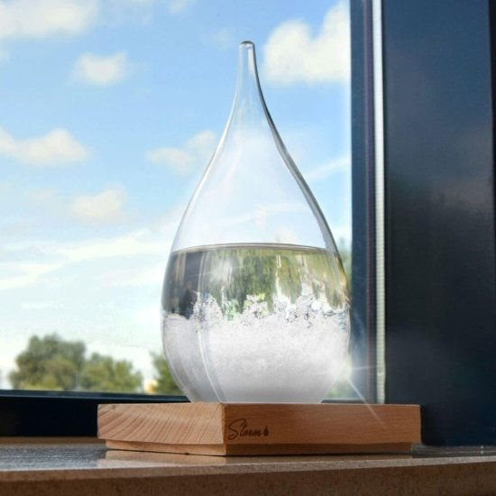 Tempo Drop Weather Forecasting Storm Glass (Stor) gadget