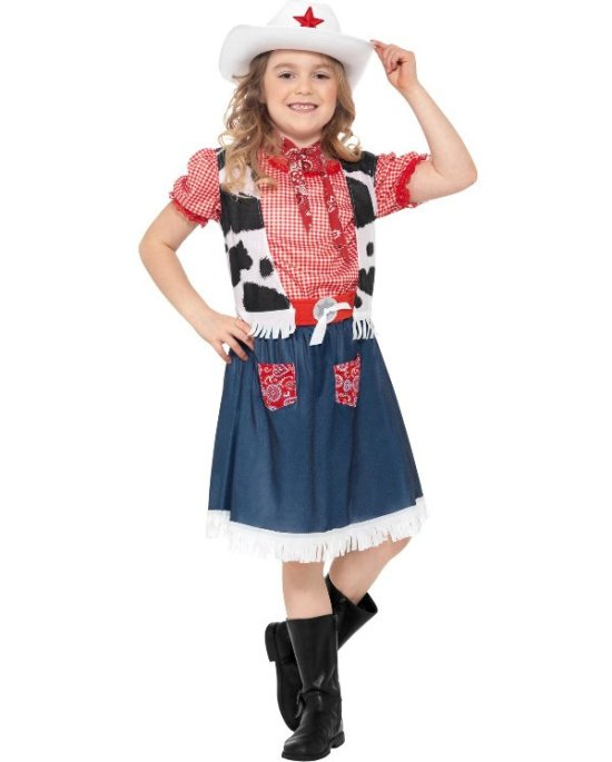 Lille cowgirl kostume