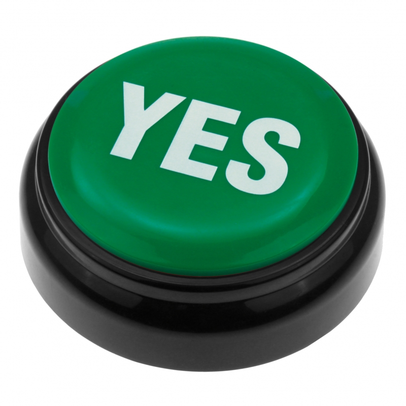 Image of   Yes Button Buzzer