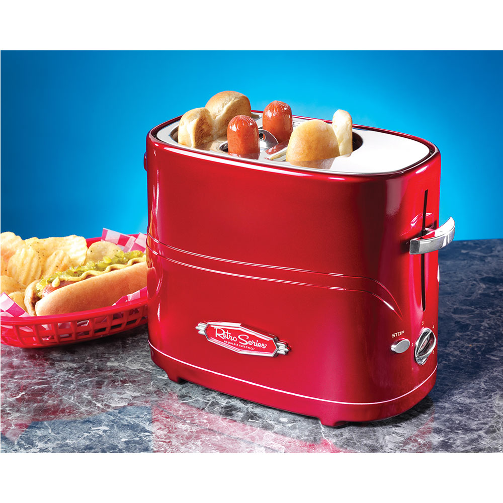 Image of   HotDog-Maskine - pop-up Toaster