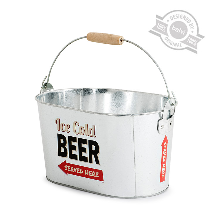 Image of   Ice Cold Beer - Retro Spand