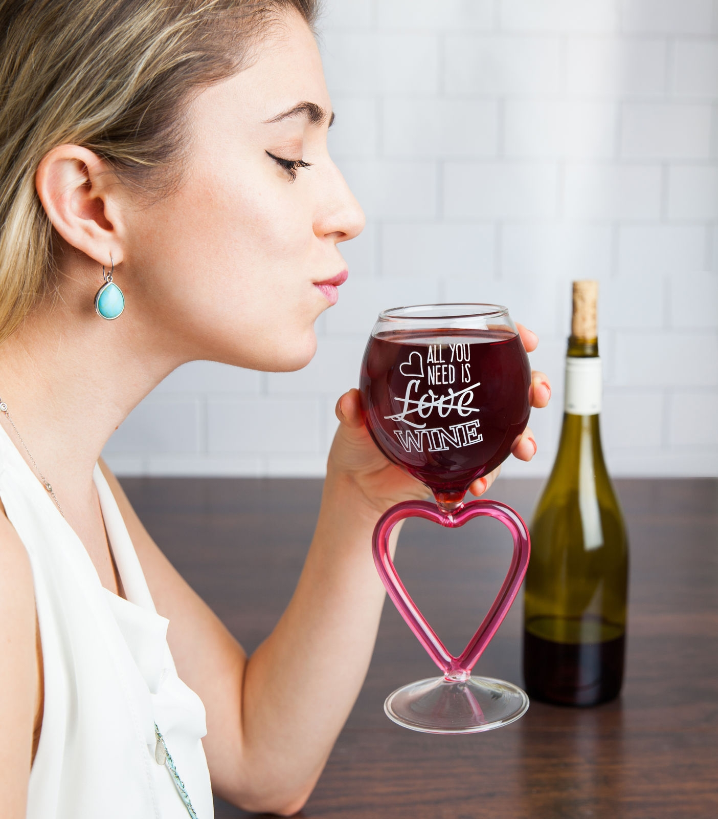 Image of   All You Need is Wine Vinglas