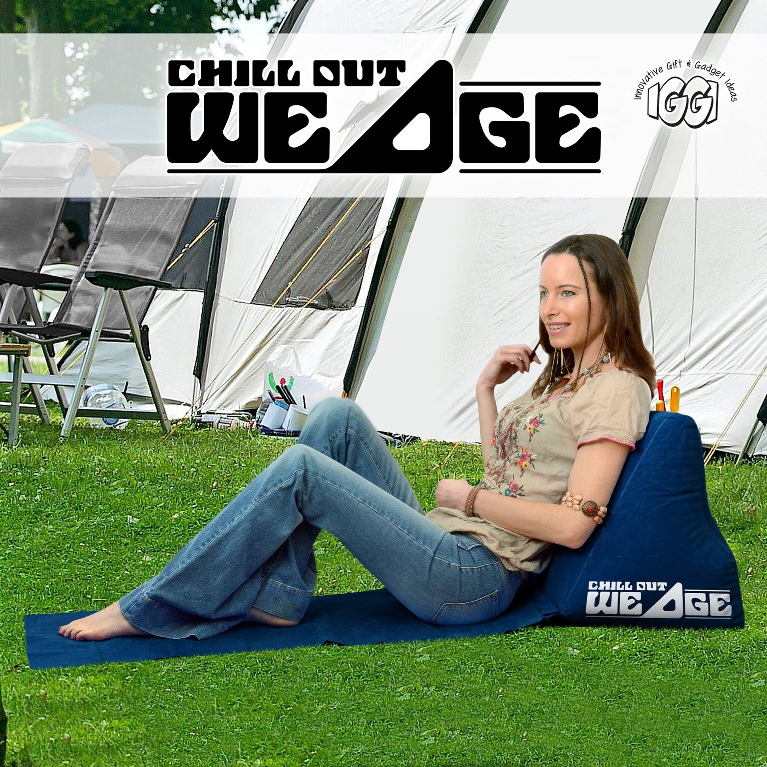 Image of   Chill Out Wedge IGGI (Blå)