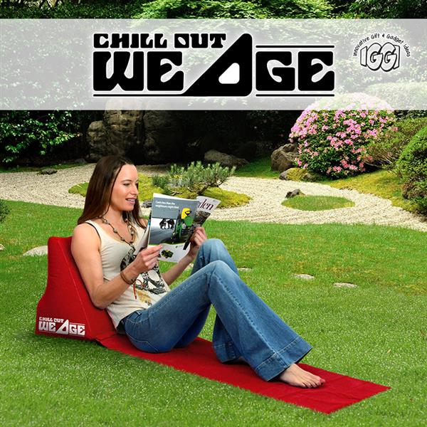 Image of   Chill Out Wedge IGGI (Rød)