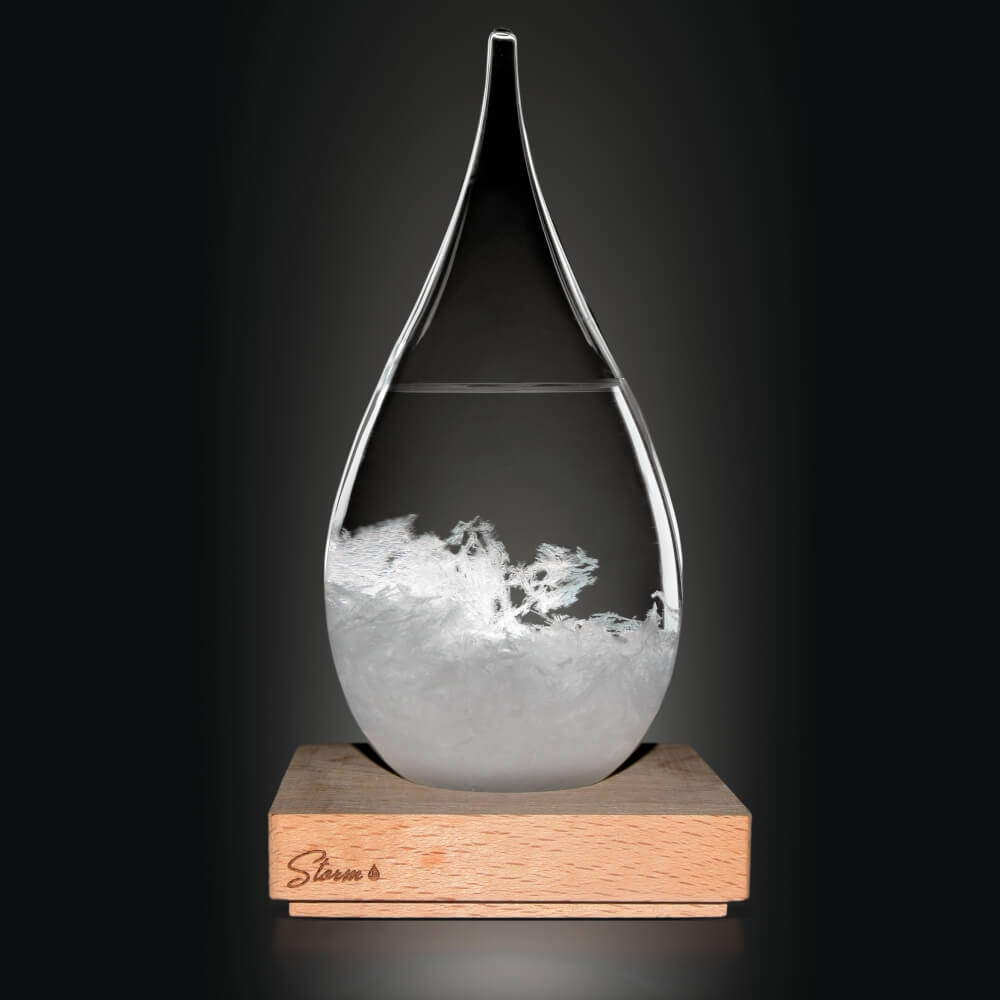 Image of   Tempo Drop Weather Forecasting Storm Glass (Stor)