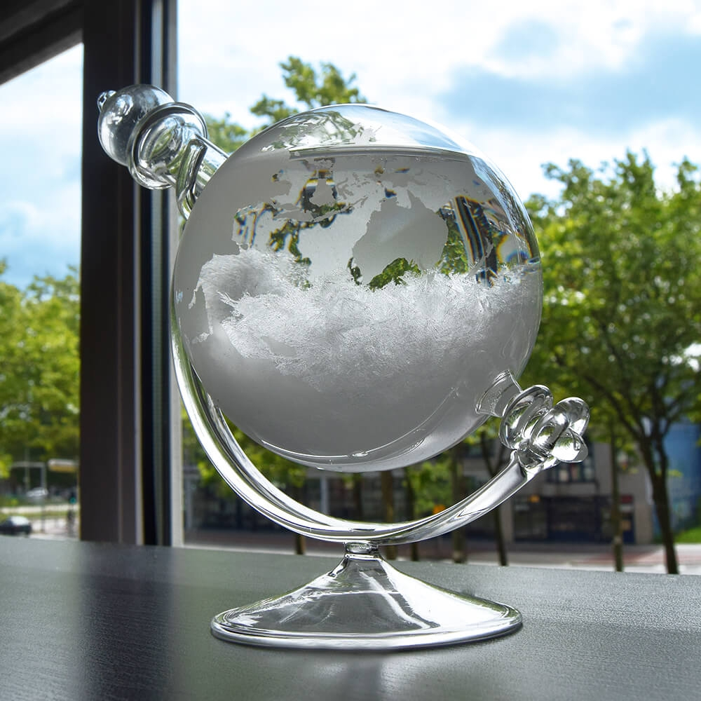 Image of   Tempo Globe Weather Forecasting Storm Glass