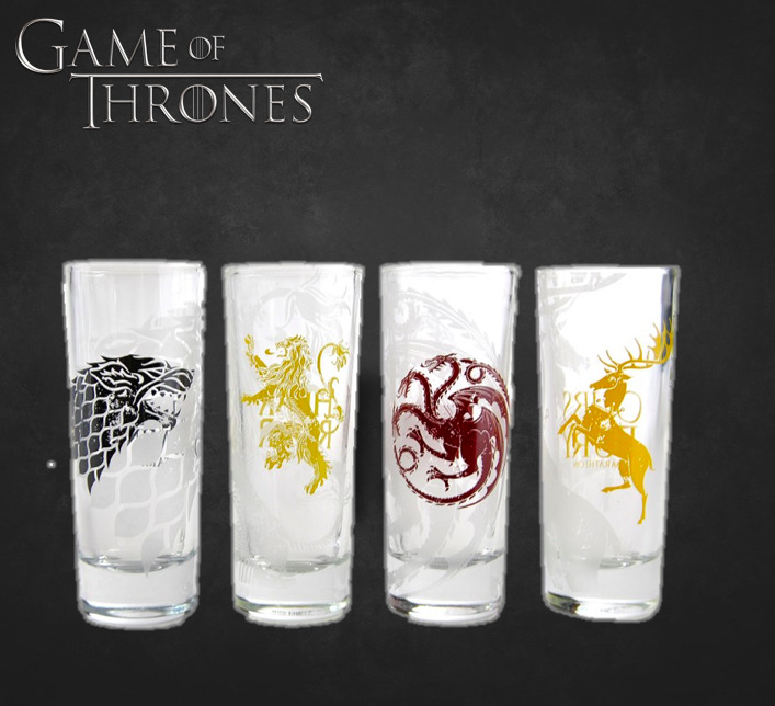 Image of   Game Of Thrones Shotglas (4 Pak)