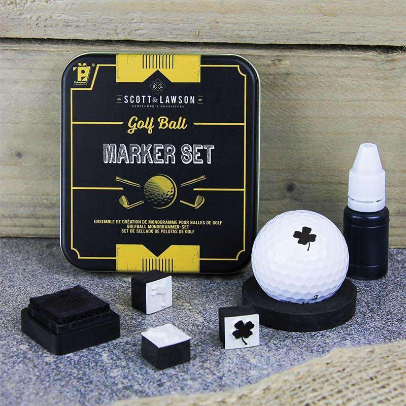 Image of   Scott and Lawson Golf Ball Marker Set