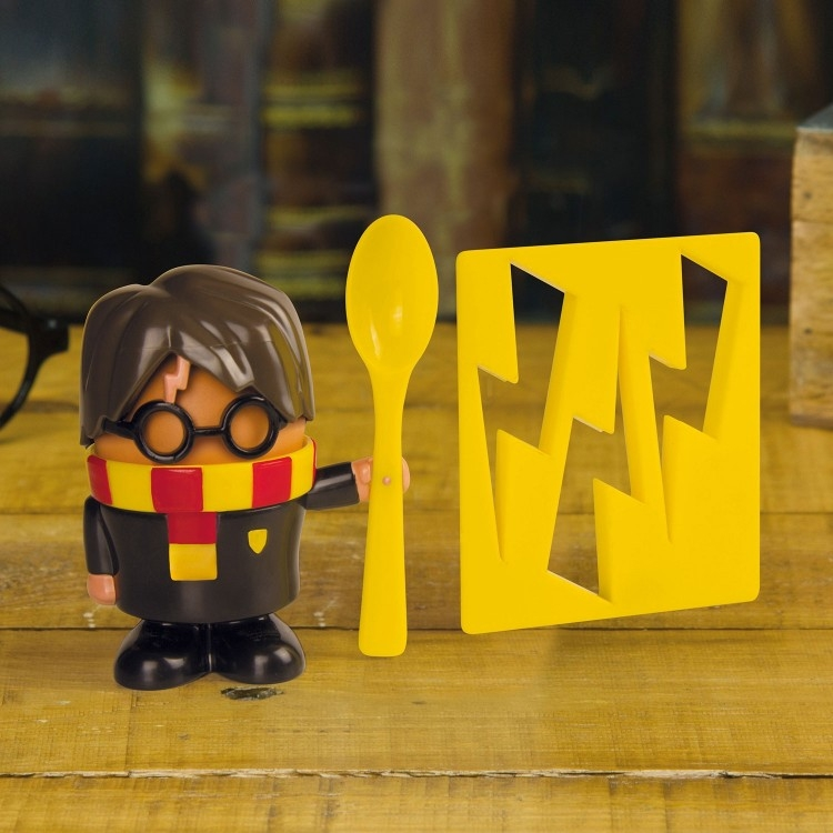 Image of   Harry Potter Egg Cup and Toast Cutter